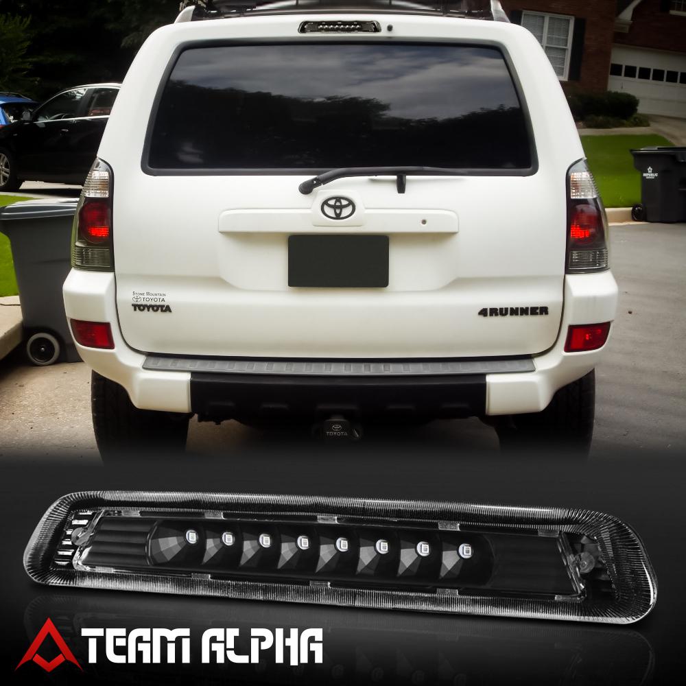 DNA Motoring Black Smoke 3BL-4RUNNER03-LED-BK-SM LED Third Brake Light for 03-09 4Runner