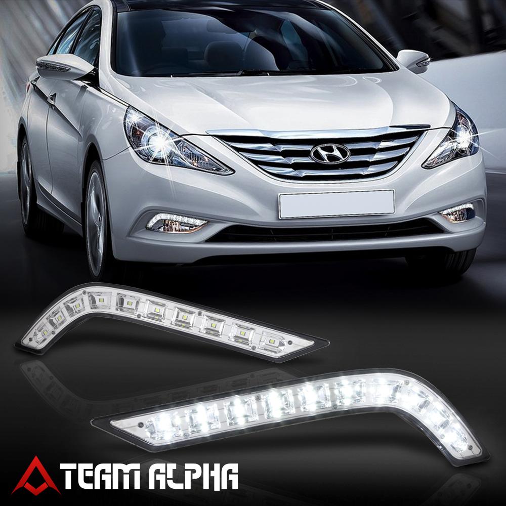 Details About Fits 2011 2014 Hyundai Sonata Bumper Fog Light Driving Lamp W Harness