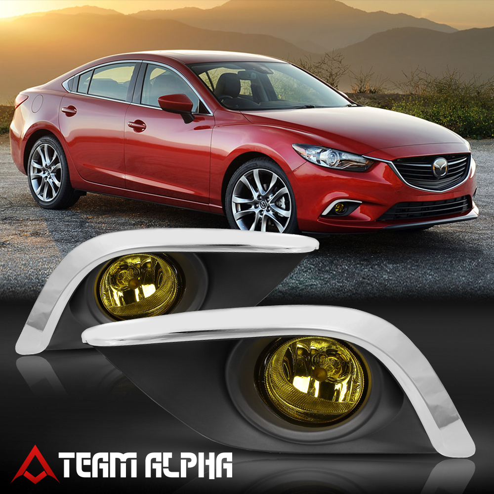 Mazda 6 2014 For Sale: Fits 2014-2016 Mazda 6[Yellow]Fog Light Lamp W/Switch