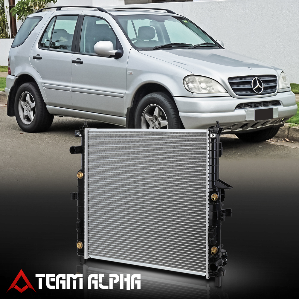 Radiator Assembly Aluminum Core Direct Fit for Mercedes Benz ML320 ML430 ML500